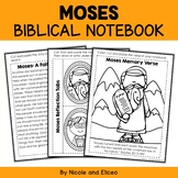 Moses Interacitve Notebook Bible Unit