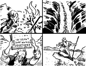 Moses and the Exodus Coloring Pages