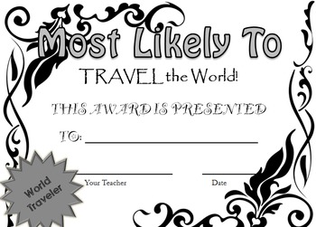 Most Likely To Awards