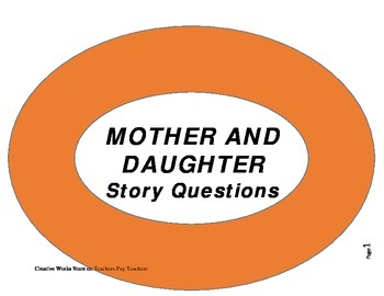 Mother and Daughter ( by Gary Soto) - Reading Quiz/Test/Exam