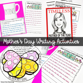 Mother's Day Activities and Crafts for Big Kids Grades 4-5