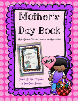 Mother's Day Book (Stepmom, Grandma & Aunt versions)