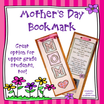 Mother's Day Bookmark Craft