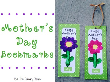 Mother's Day Bookmarks! {Freebie!}
