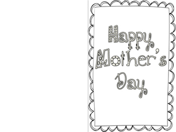 Mother's Day Card with Poem