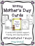 Mother's Day Cards: Differentiated for ALL your Special Ed