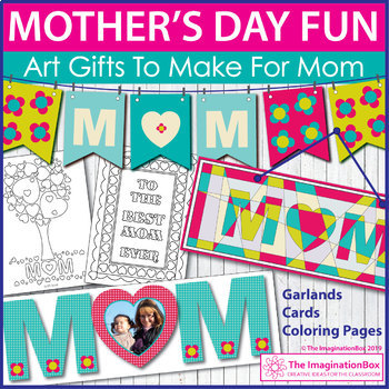 Mother's Day Creative Art Activity Pack
