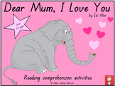 """Mother's Day - """"Dear Mum, I Love You"""" Reading Comprehensio"""