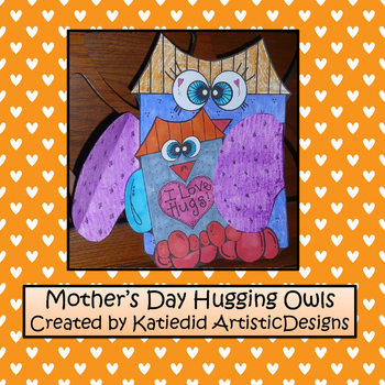 Mother's Day Hugging Owls