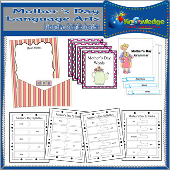 Mother's Day Language Arts Interactive Foldable Booklets