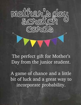 Mother's Day Scratch Cards