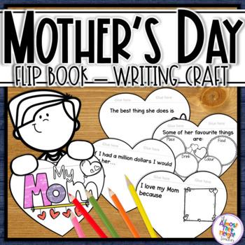 Mother's Day - flip book celebrating Mom