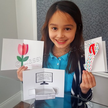 Mother's Day make your own cards with FREE fact sheet and