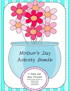Mother's Day No Prep Activities Pack