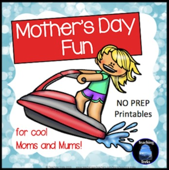 Mother's Day Activities: Language and Math Activities