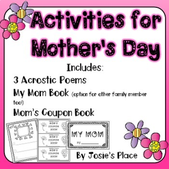 Mother's Day Activities NO PREP!