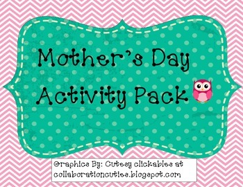 Mother's Day Activity Pack