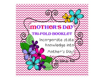 Mother's Day Activity Tri Fold Brochure for Mom or Caregiver