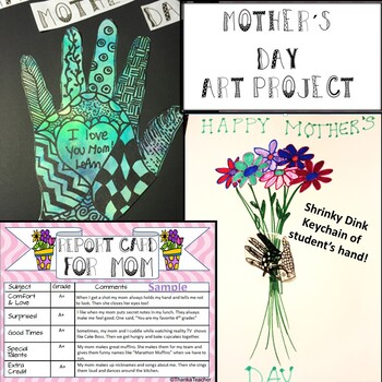 Mother's Day Art Project and Gift- 2 Projects in One (Easy