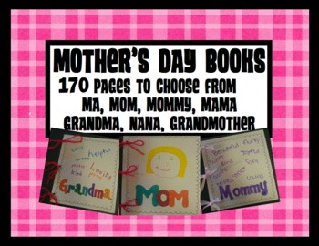 Mother's Day Books {For Mom, Mama, Mommy, Ma, Grandma, Nan