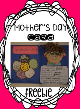 Mother's Day Card {Freebie}