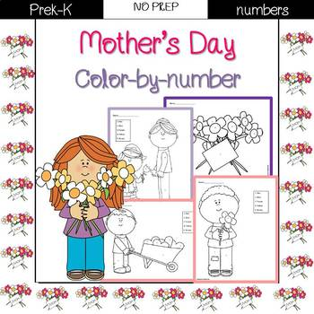 Mother's Day Color by Number