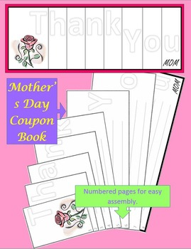 Mother's Day - Coupon Book