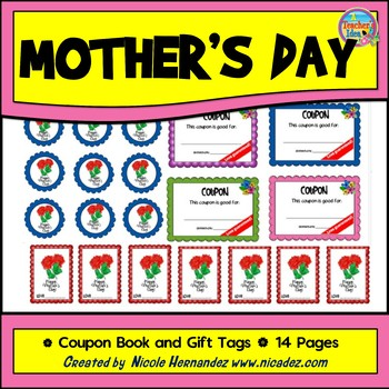 Mother's Day- {Coupon Book and Gift Tags}