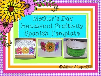 Mother's Day Craft  Spanish