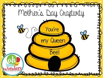 Mother's Day Craftivity Book