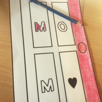 Mother's Day Craft Activity Project   Writing Craftivity f