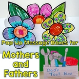 Mother's and Father's Day Craftivity, Pop-Up Message Box