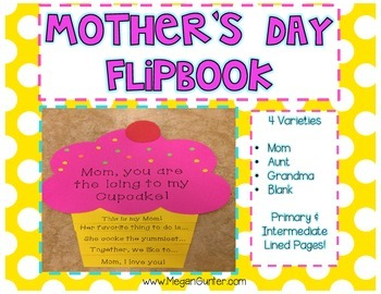 Mother's Day Craft Flip Book