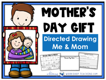 Mother's Day Directed Drawing FREEBIE - Whimsy Workshop Teaching