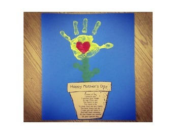 Mothers Day Flower pot with poem