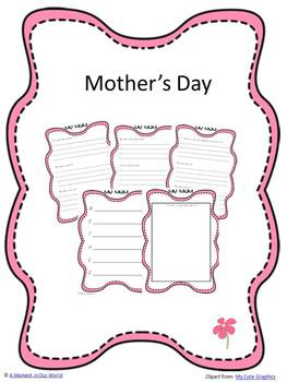 Mother's Day Freebie - All About My Mum