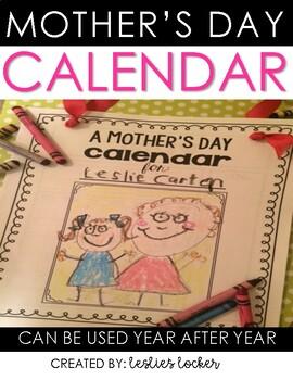 Mother's Day Gift {custom calendar}