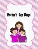 Mother's Day Holiday Bingo Game