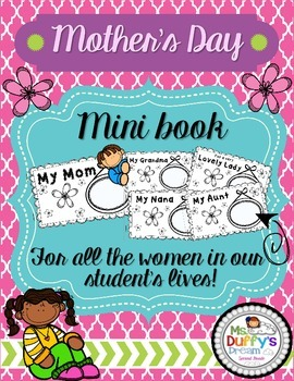 Mother's Day Mini Book (Fill in the blanks)