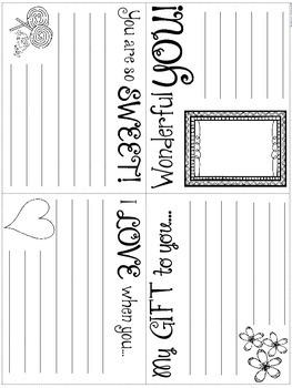 Mother's Day Mini Book Freebie
