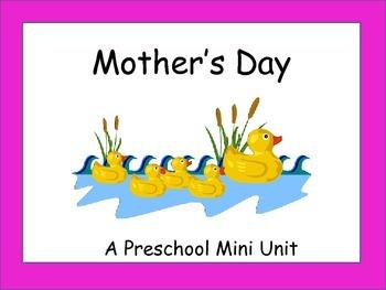 Mother's Day Mini Unit