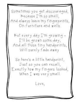 Mother's Day Poems for Crafts - Free
