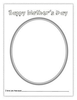 Mother's Day Portrait Paper