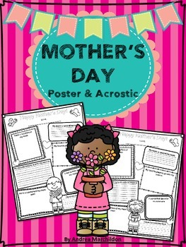 Mother's Day - Poster & Acrostic Poem