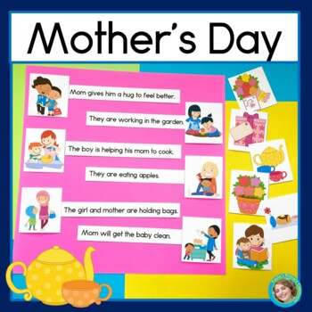 Mothers' Day Sentence Picture Match