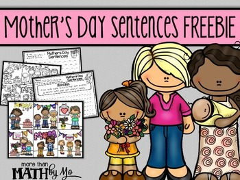 Mother's Day Sentences FREEBIE