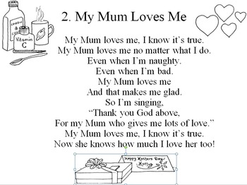 Mother's Day Song - My Mum Loves Me