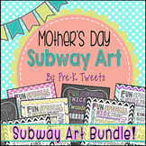 Mother's Day Card - Subway Art Bundle