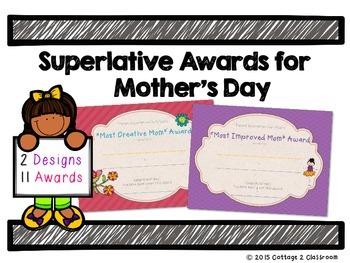 Mother's Day Superlative Awards