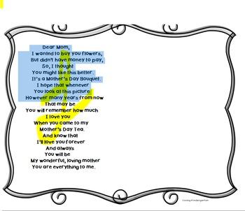 Mother's Day Tea Poem